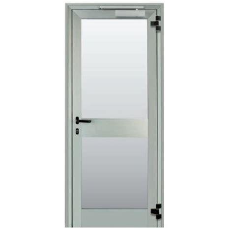 porte interne in alluminio e vetro 2 porte in vetro e alluminio con apertura antipanico a