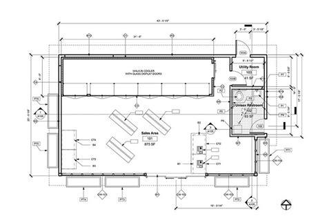 autodesk floor plan service station store floor plan remodeled