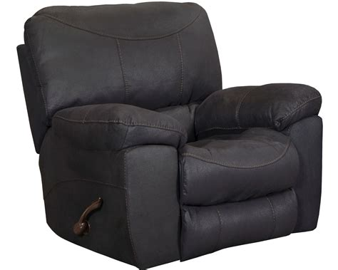 black rocker recliner terrance black rocker recliner 15802115668 catnapper