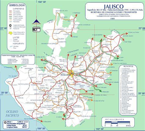 mapa de carreteras de carreteras libres de mexico mapa