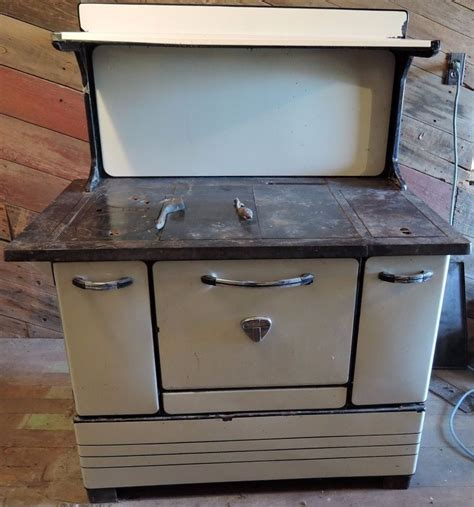 Wood Burning Kitchen Stove by Antique Montgomery Ward Wood Burning Kitchen Cook Stove Ebay