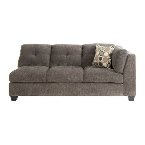 jeromes sofas trinton sectional raf sofa in pewter jerome s furniture