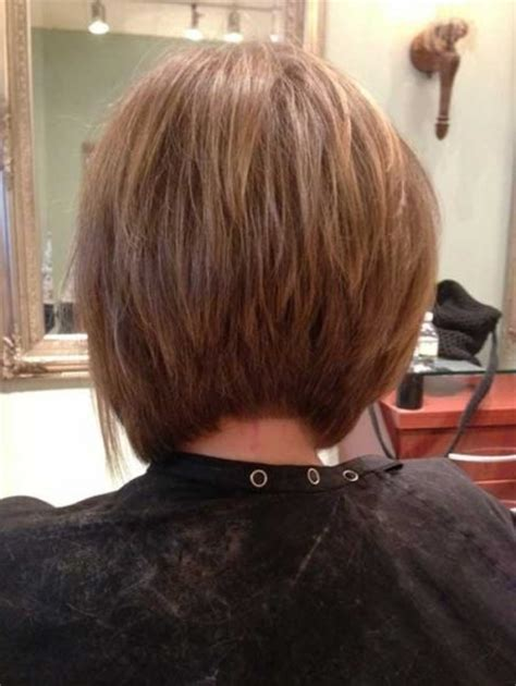 Wiew Of Back Of The Head With Asymetrical Haircut | asymmetrical bob haircut back view for your hair glamor
