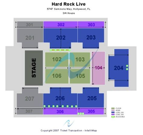 rock live seating map rock live at the seminole rock hotel casino