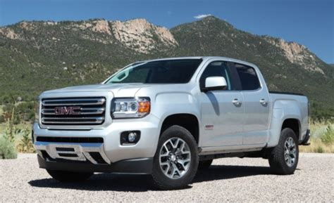 gmc canyon news release date updates  gmc