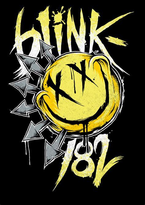 blink 182 tee shirt designs on behance