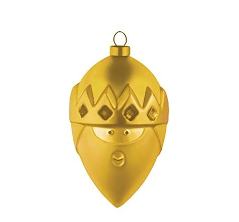 alessi kaffeedose alessi quot gaspare quot ornament in blown glass gold