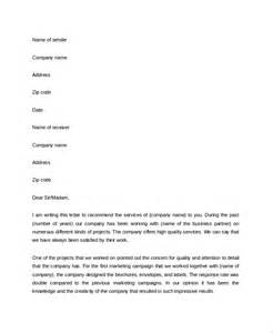 Business Letter Your Reference Sample Business Reference Letter 4 Documents In Pdf Word