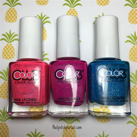Bright Picks For Summer by Color Club Summer Bright Picks The Polished Pursuit