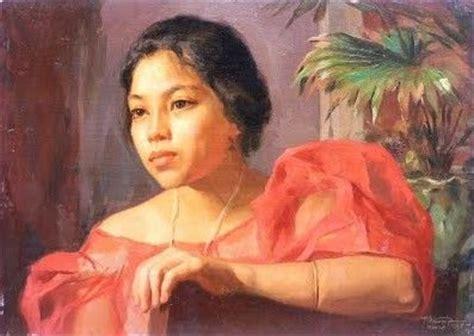 biography of filipino artist amorsolo painting of filipina woman fernando amorsolo
