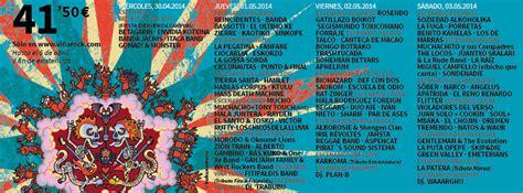 vi arock entradas 187 ciudades 187 albacete