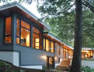 mid century modern window trim reservoir exterior