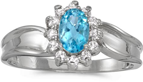 10k white gold oval blue topaz and ring cm rm804w 12