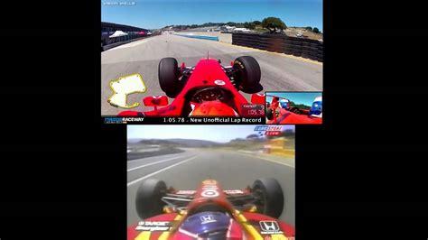 formula 3 vs formula 1 cart vs formula 1 car laguna seca lap doovi