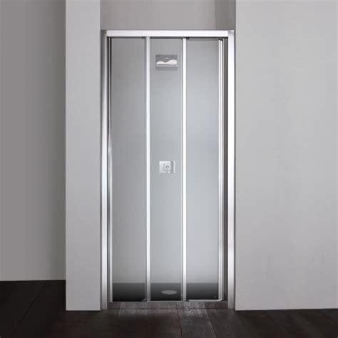 porta doccia 90 cm porta doccia nicchia da 90 cm con 3 ante scorrevoli