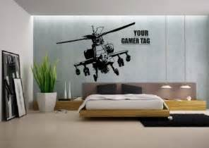 call of duty style apache helicopter gamer tag cod boys