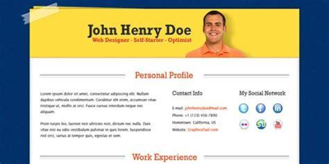 cv design john doe psd 15 free resume photoshop templates for enhancing the