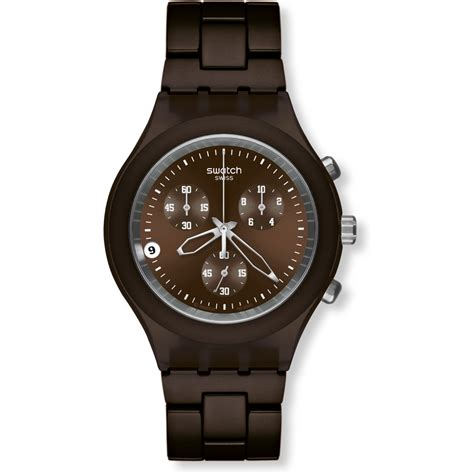 swatch svcc4000ag blooded smokey brown