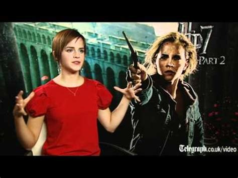 life with hermione harry potter and the deathly hallows part 2 star emma