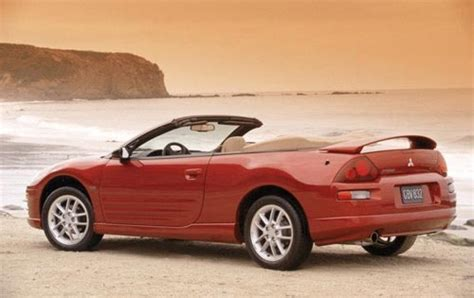 2002 mitsubishi eclipse spyder 2002 mitsubishi eclipse spyder information and photos