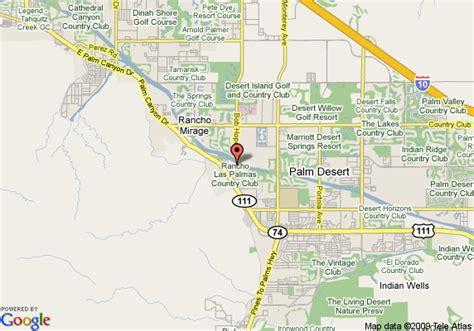 california map rancho mirage map of rancho las palmas resort spa rancho mirage