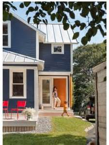 blue house orange door home exterior on pinterest traditional exterior big