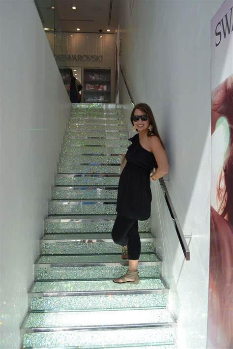 glitter wallpaper on stairs 13 sparkly home decor ideas well done stuff