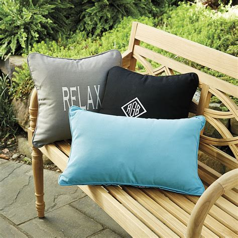 ballard design pillows monogrammed outdoor pillows ballard designs
