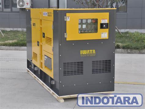 Genset Diesel Iwata 80kva Silent Iw80ws jual genset murah distributor genset terlengkap pt