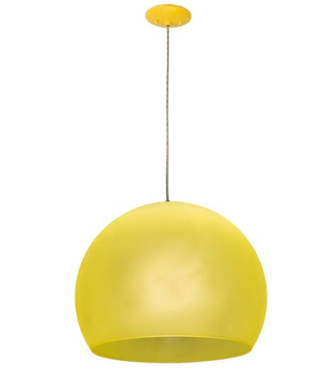 yellow light fixture meyda tiffany 162257 bola play modern yellow hanging light