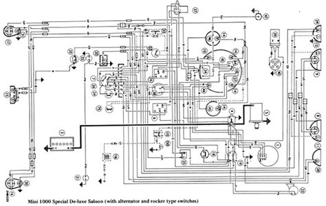 morris mini 1000 wiring diagram electrical system