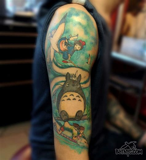my tattoo shop my totoro seagulls by nasa at