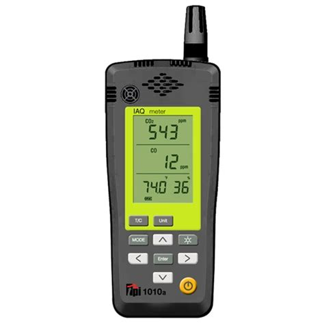 Air Quality Meter Tpi 1010 Indoor Air Quality Meter With Co Ivytools