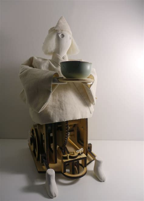 karakuri tea serving spirit automaton wenhuamin