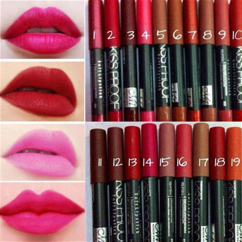 Lipstik Proof Indonesia proof menow soft lipstick matte