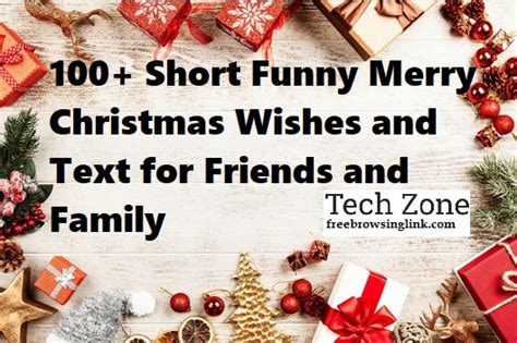 merry christmas wishes text short funny  friends  family