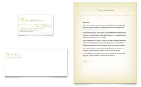 Attorney & Legal Services Business Card & Letterhead