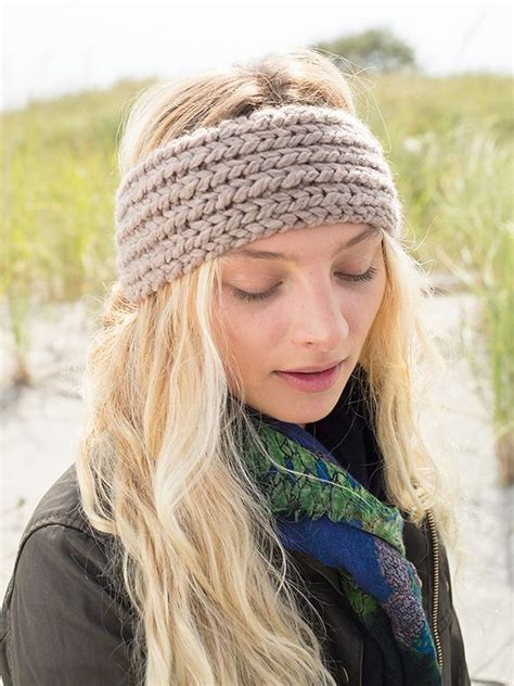 knitted headband patterns profiteroles a free headband knitting pattern in berroco