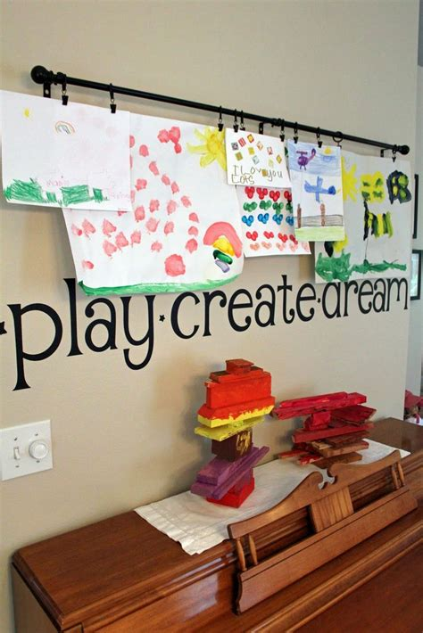 hang art 1000 ideas about hanging kids artwork on pinterest