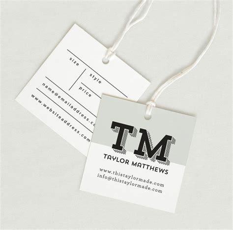 label design cost printed fabric label price tag hang tag custom clothing