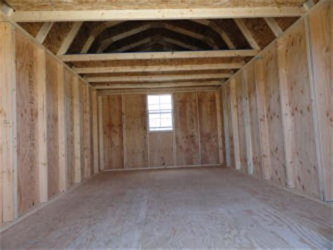 pics inside 14x30 house old hickory sheds lofted barn idaho