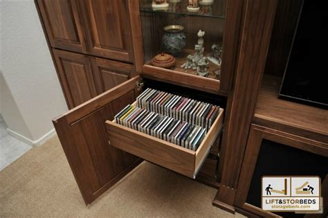 entertainment center with dvd drawers arizona custom entertainment centers lift stor beds