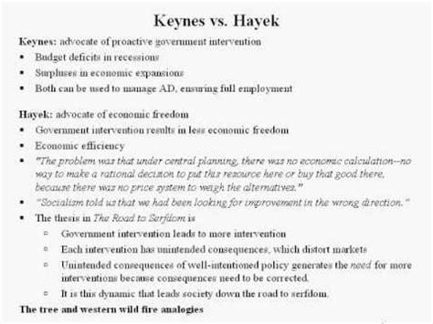 keynes vs hayek macroeconomics lecture 6 6 of 6 keynes vs hayek youtube