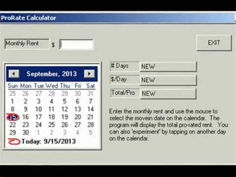 Kaltmiete Warmmiete Rechner by Prorate Pro Landlord Pro Rent Calculator