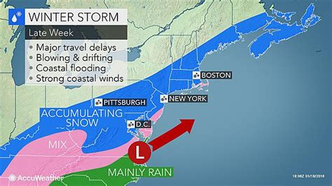 weather update details released  noreaster major