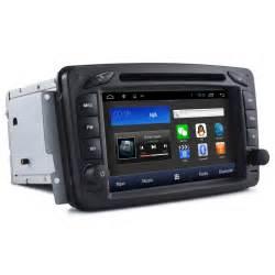 Mercedes Gps Autoradio Gps Mercedes C W203 A W168 Clk Bluetooth Tmc