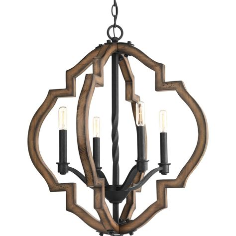 progress lighting 4 light progress lighting spicewood collection 4 light black