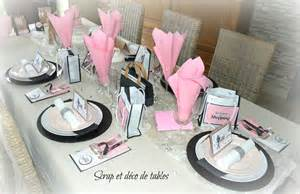 decoration de table quot les reines du shopping quot pour les 18