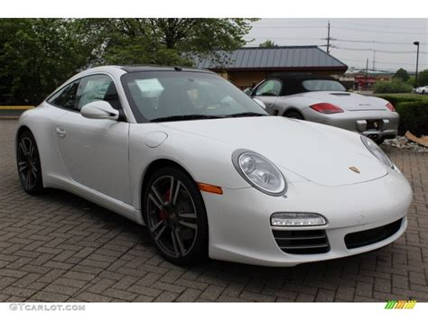 porsche targa white carrara white 2012 porsche 911 targa 4s exterior photo