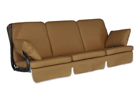Premium Comfort premium comfort schaukelauflage 3 sitzer leder karamell